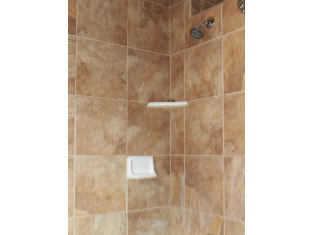 New tile/updated bathroom