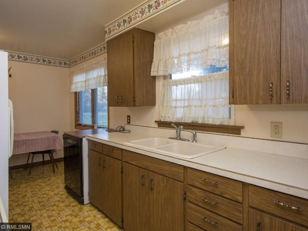 The perfect window over your sink, and spacious counters for your food prep. 1623 Highway 2, Two Harbors, MN