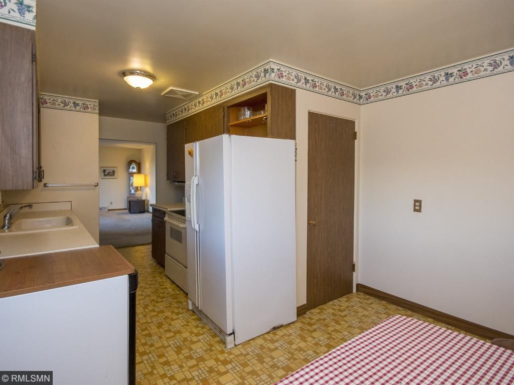 Convenient access to the lower level from in the kitchen. 1623 Highway 2, Two Harbors, MN