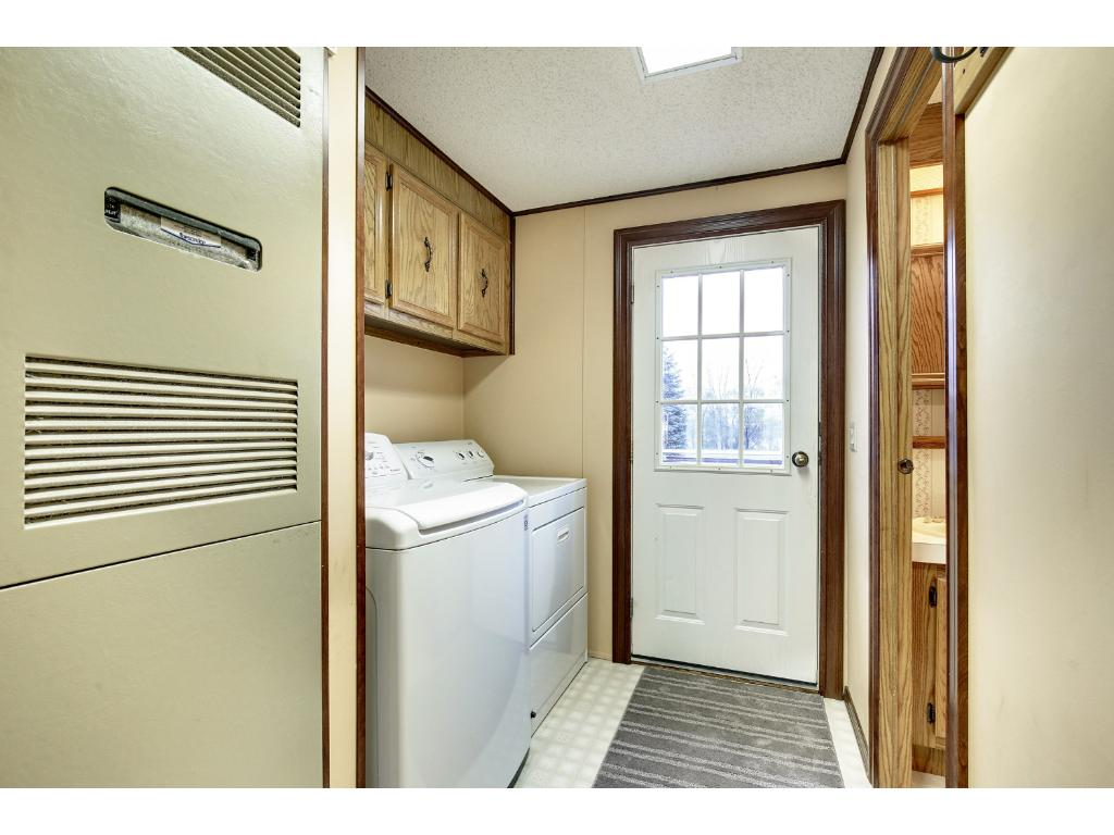 Great back entry complete with convenient laundry area.