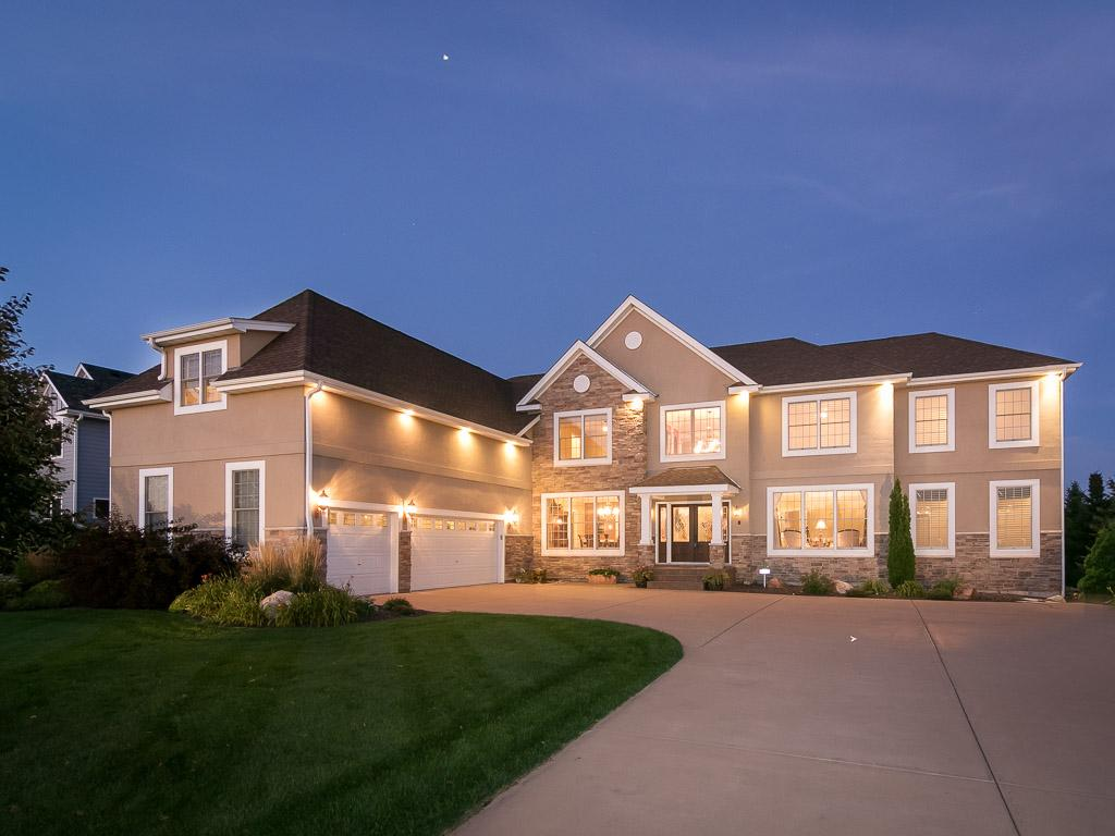 This gorgeous home sits back from the road with plenty of parking for all you guests.