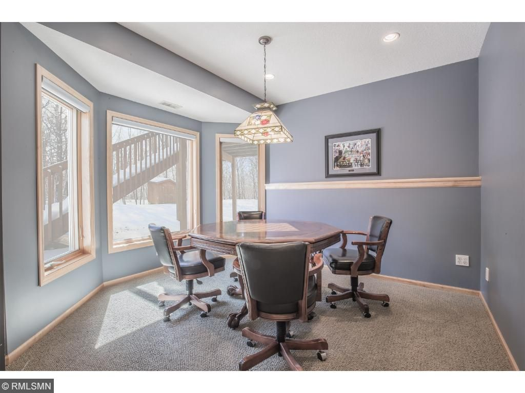 Recreation room perfect for gaming or secondary bedroom...so many options.