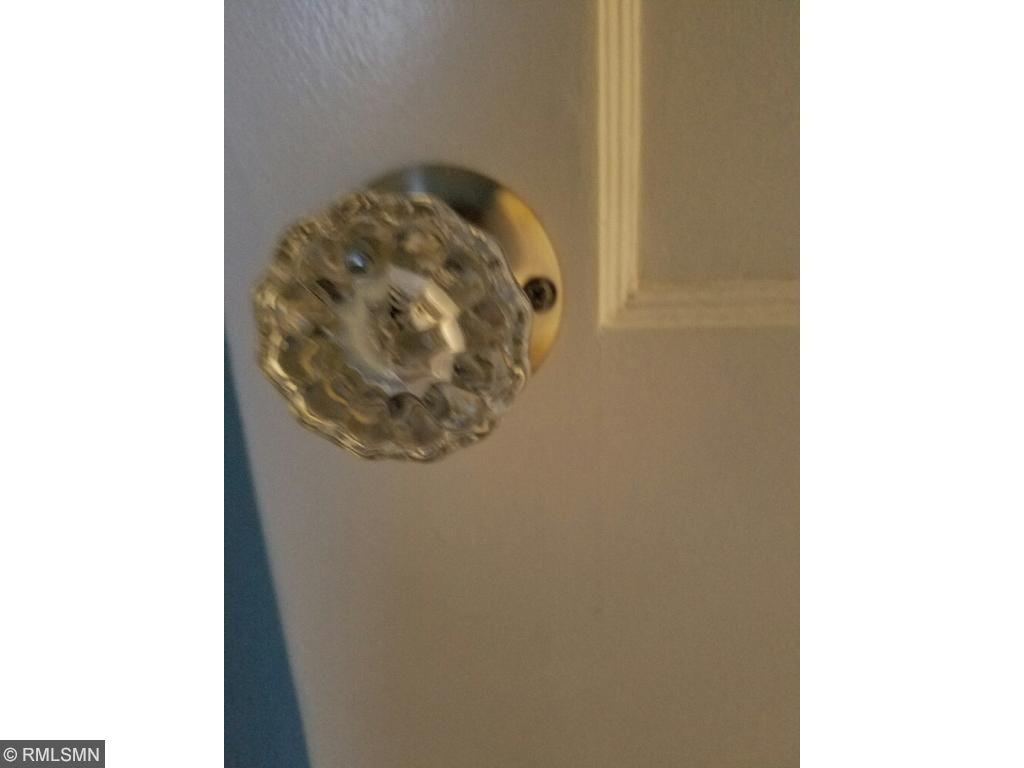 Original door knobs on most doors.