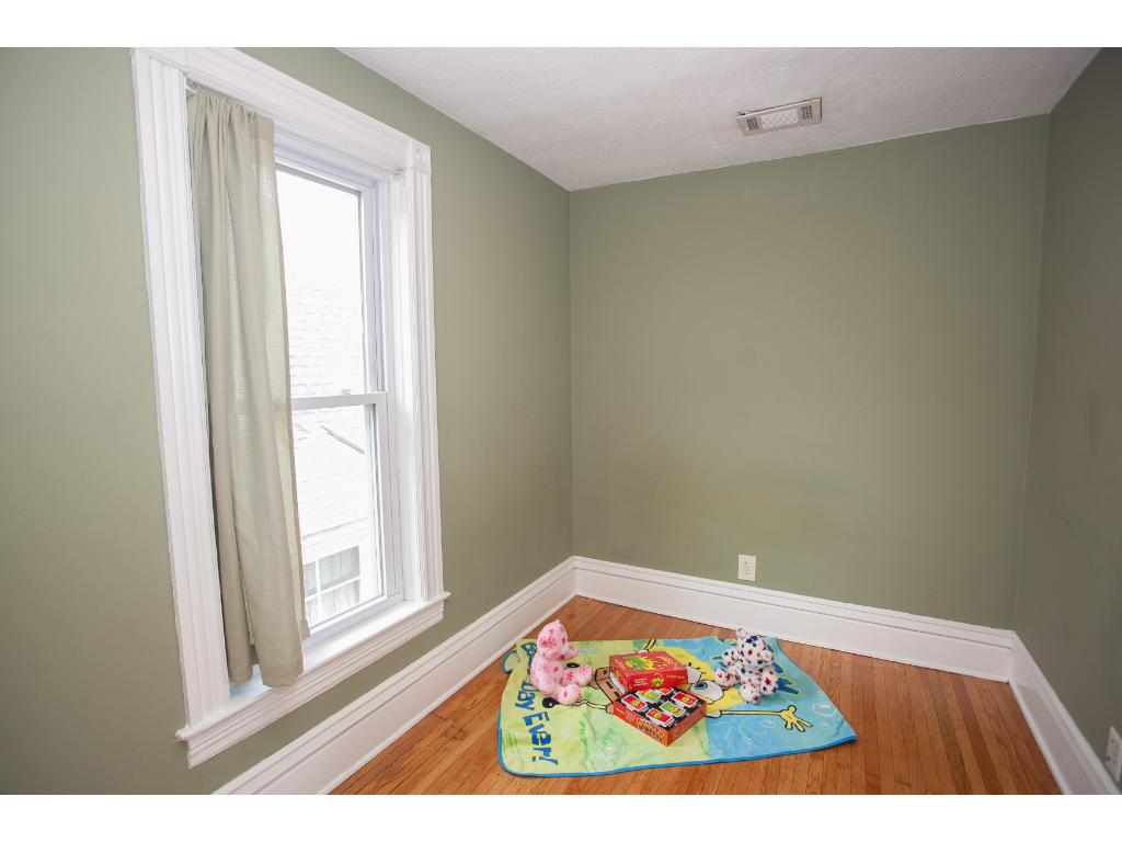 3 bedroom on upper level. Hardwood floors have been refinished thru out the home.