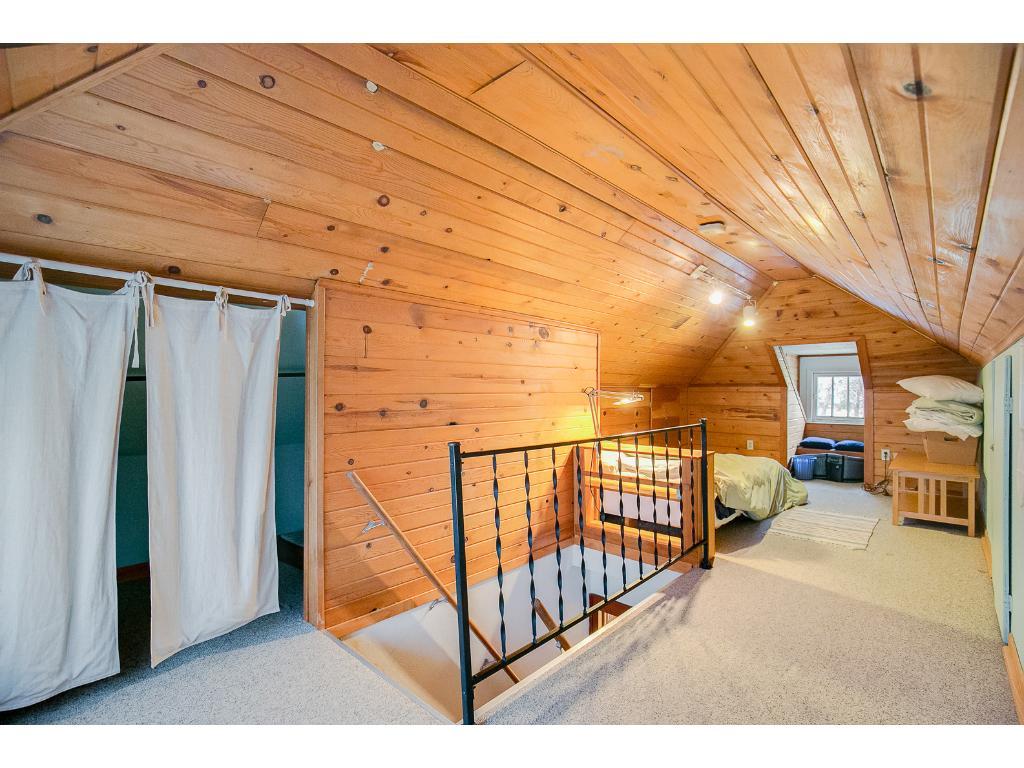 Spacious upper level third bedroom or hideaway!