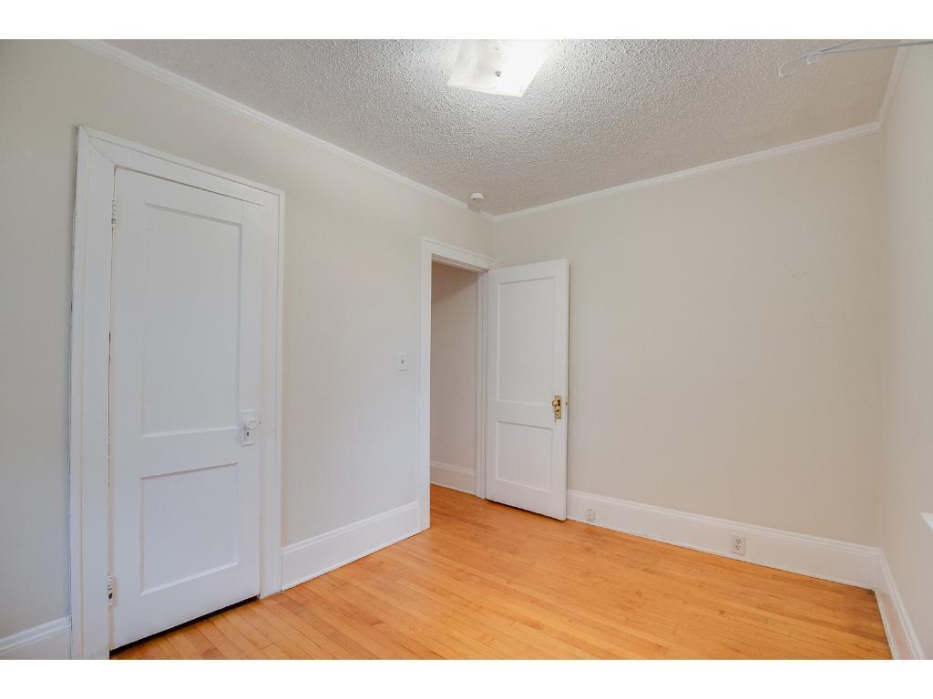 Terrific main floor bedroom with ample closet storage space!