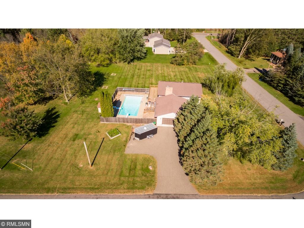 This well maintained home sits on a large, flat maturely wooded lot in a quiet neighborhood.
