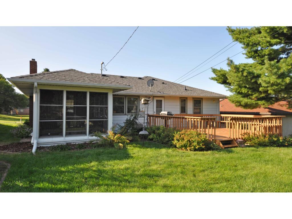 Wonderful home with flat back yard
