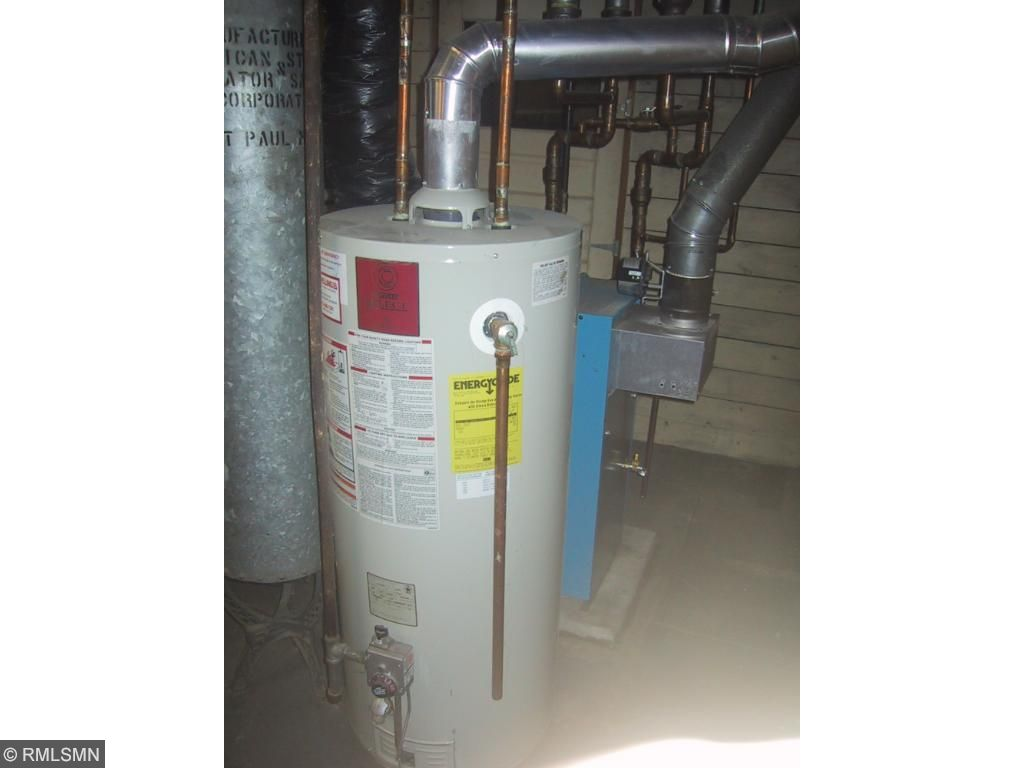 Updated hot water heater