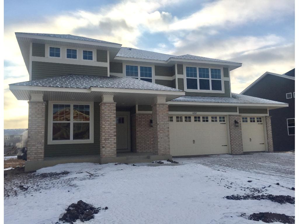 12/03/2016; this beautiful Prairie-style front is very popular for good reason. Full sod is included, and homesite is a walkout backing up to a pond.