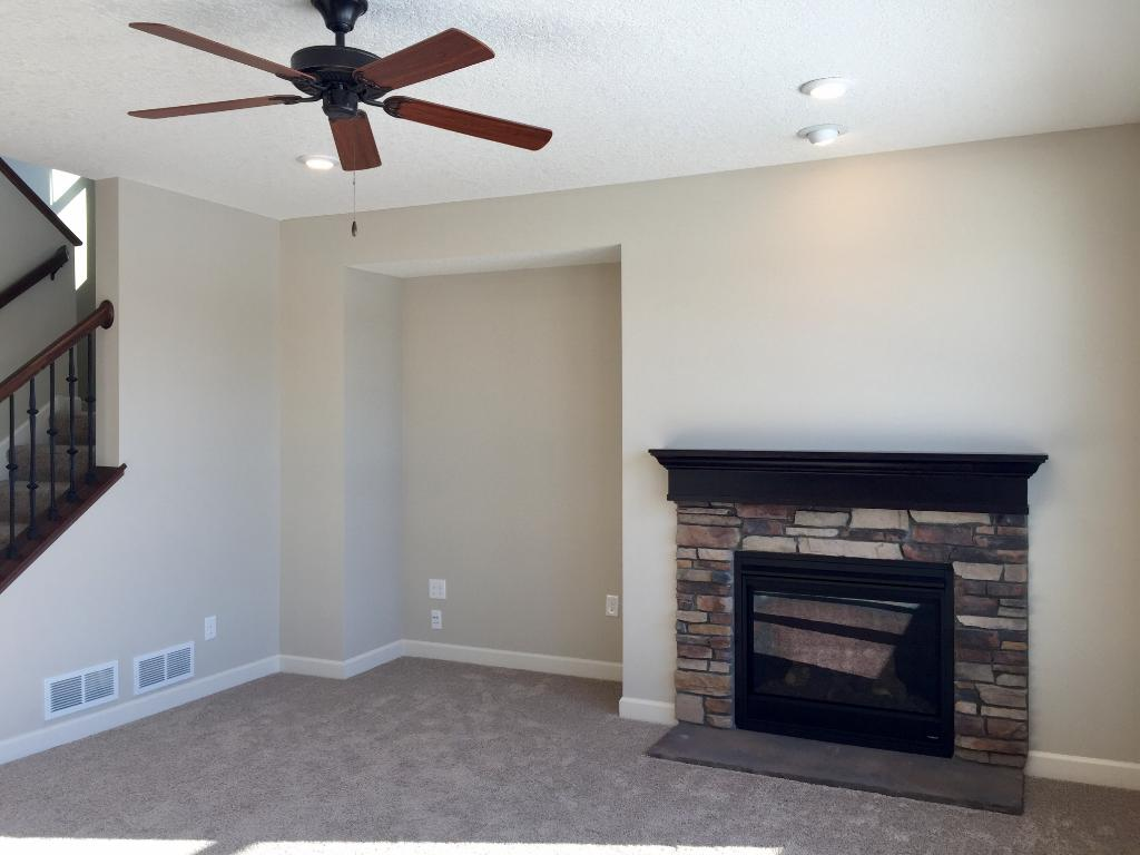 Walk-in pantry conveniently located directly off the kitchen.