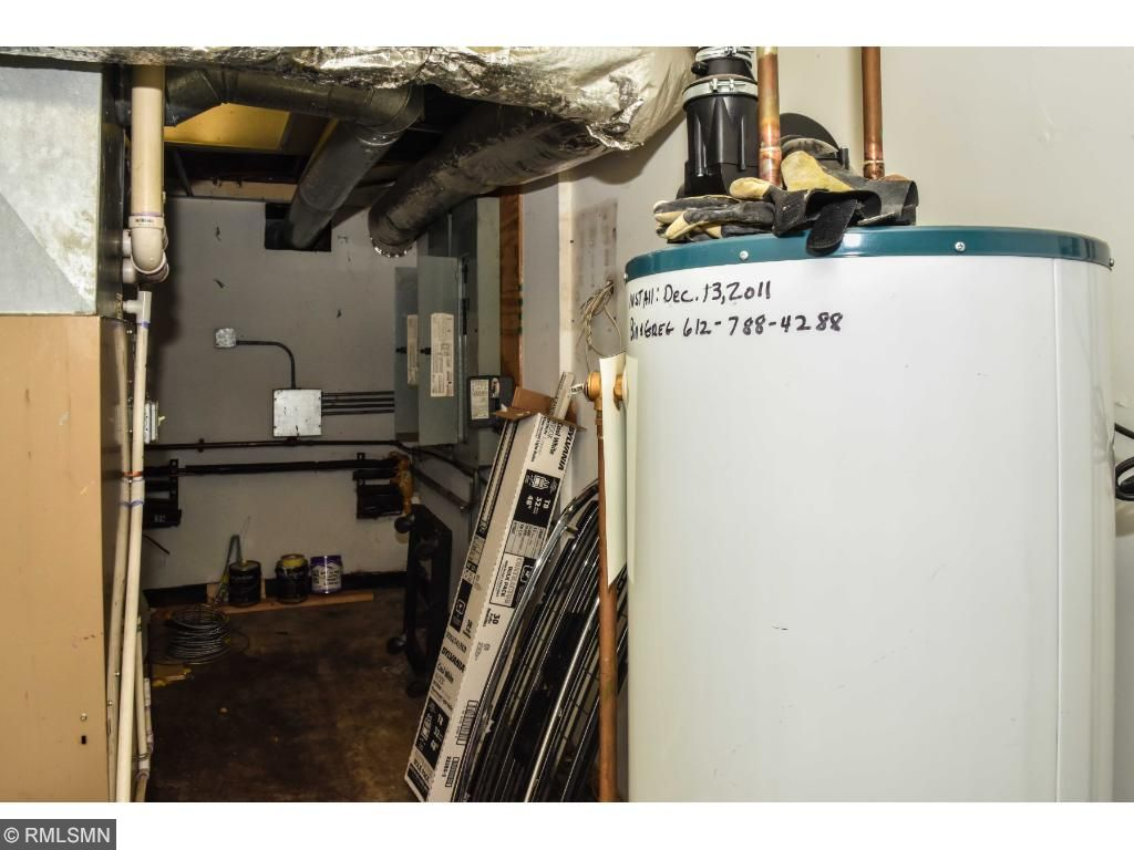 Retail space newer furnace and water heater