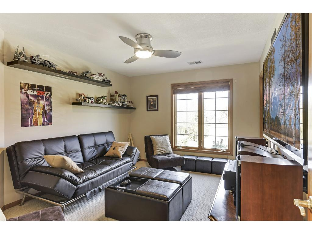 5 bedrooms including lower level guest suite w/ bath & half bath for entertaining in LL.