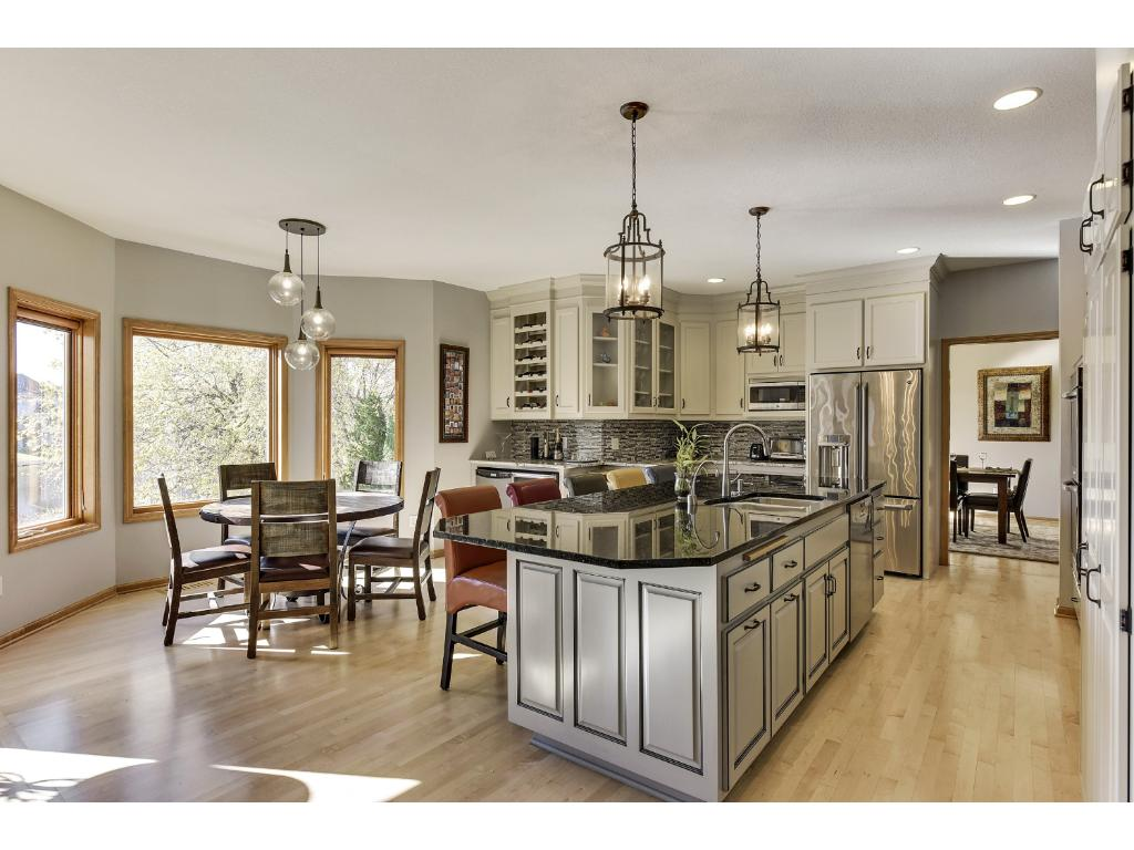 2014 Remodeled Kitchen including new custom cabinetry.