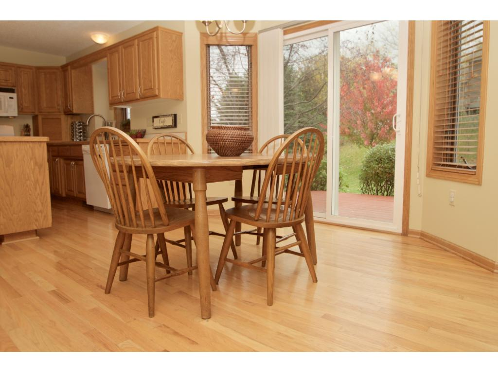 Dinette area off the kitchen.  Walk out your patio door to the deck...great setup for barbecuing and entertaining.