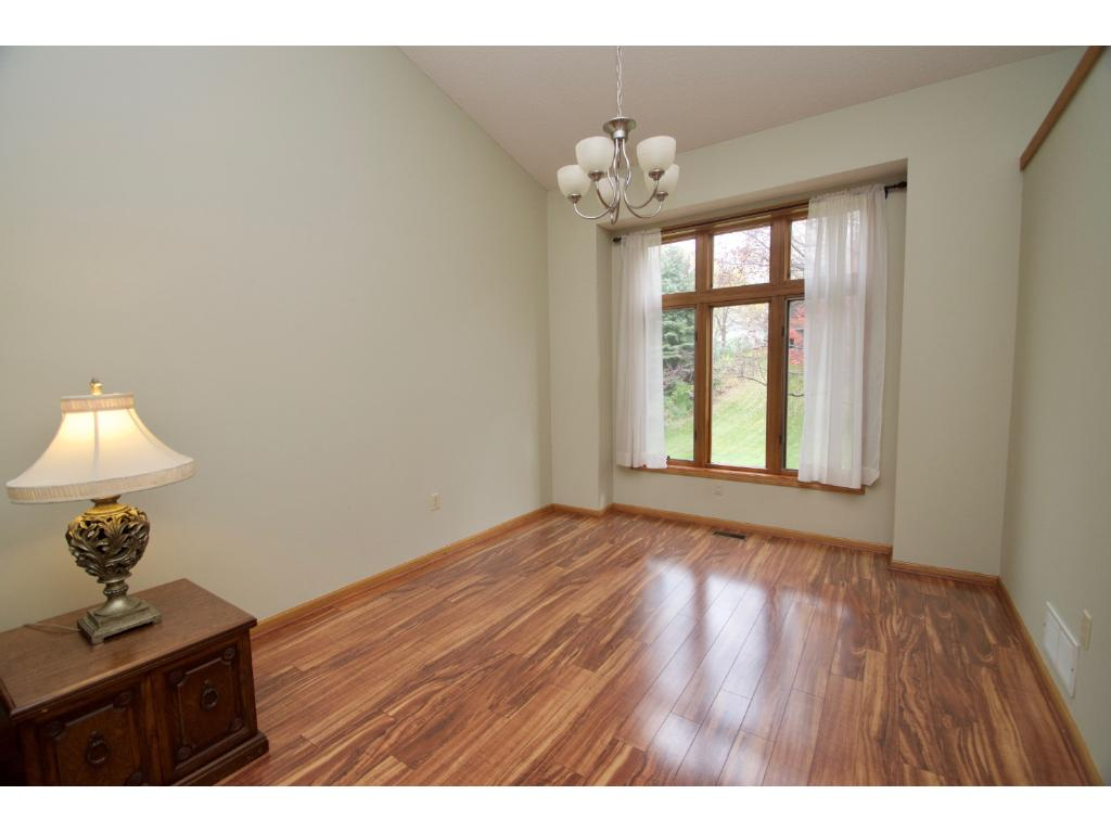 Formal dining area off the living room.