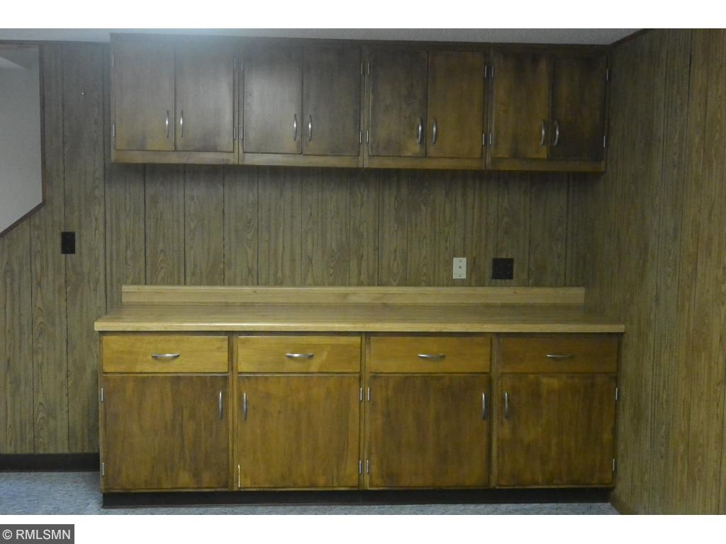 Built in cabinet in lower level family room