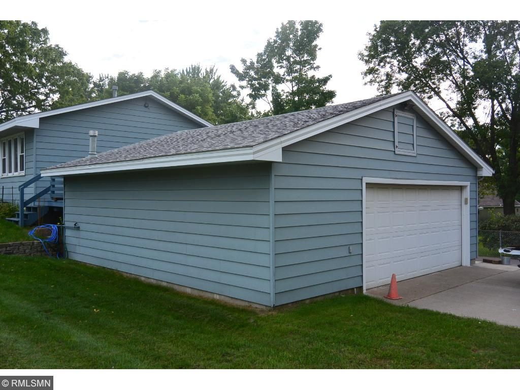 676 square feet garage 26X26 heated & insulated