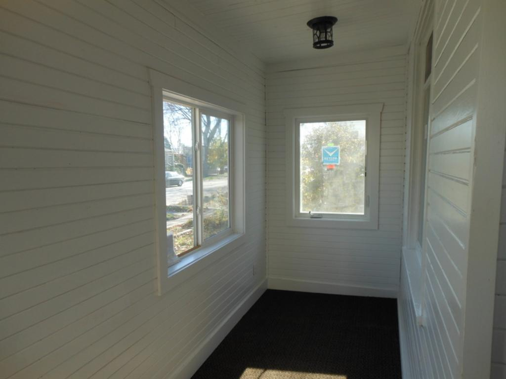 Front entry porch.