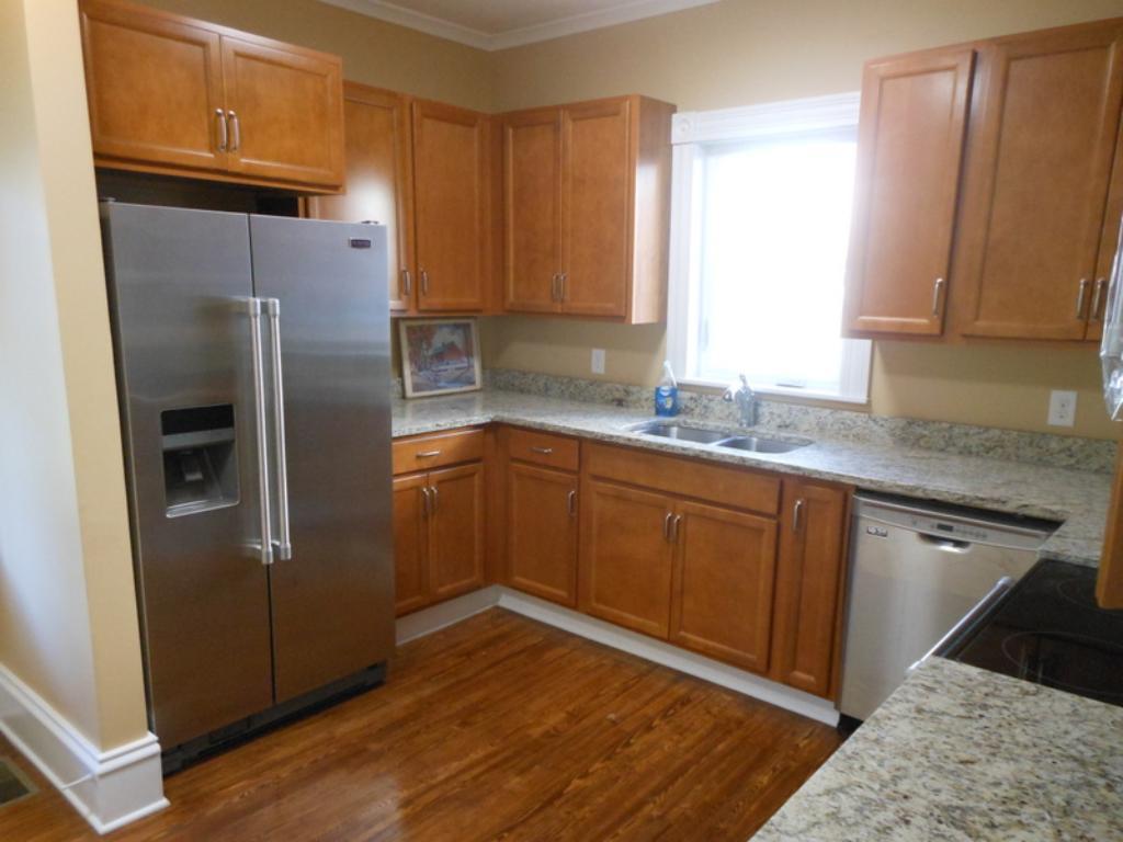 All new kitchen.