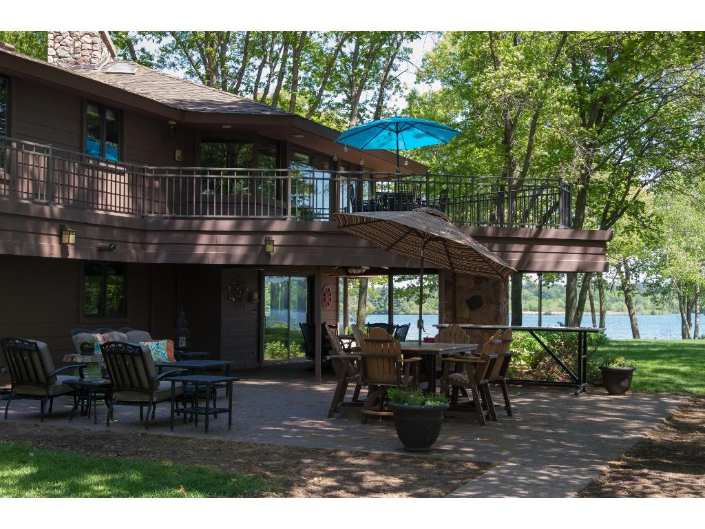 Enjoy the outdoors on one of the many decks or patios. Wild life comes right up to the home!