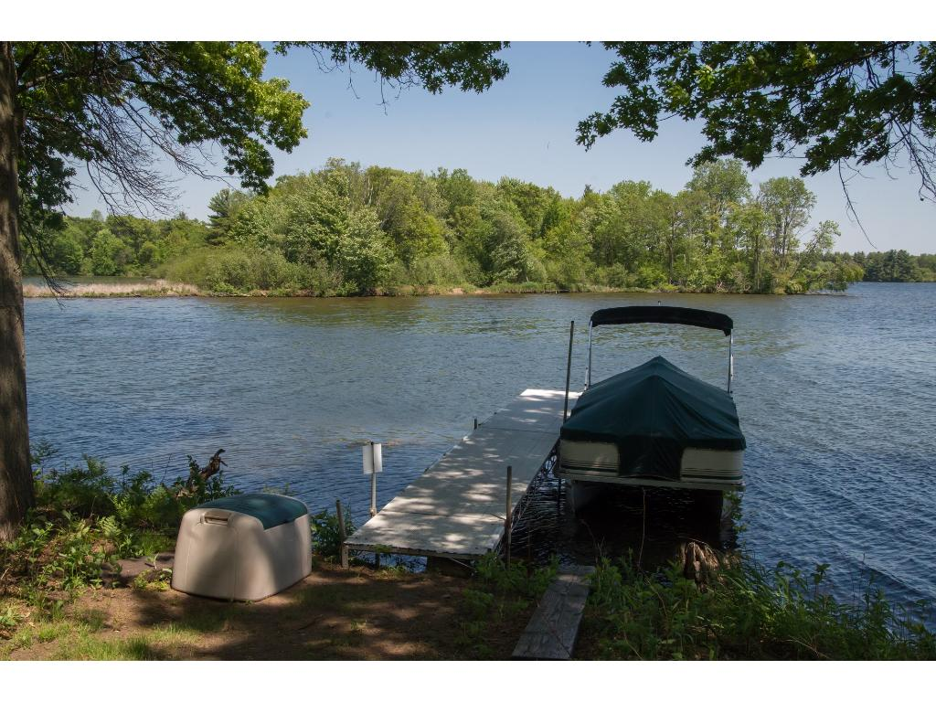 Take a short boat trip from the private dock to your 5 acre private island! Great for camping and adventures!