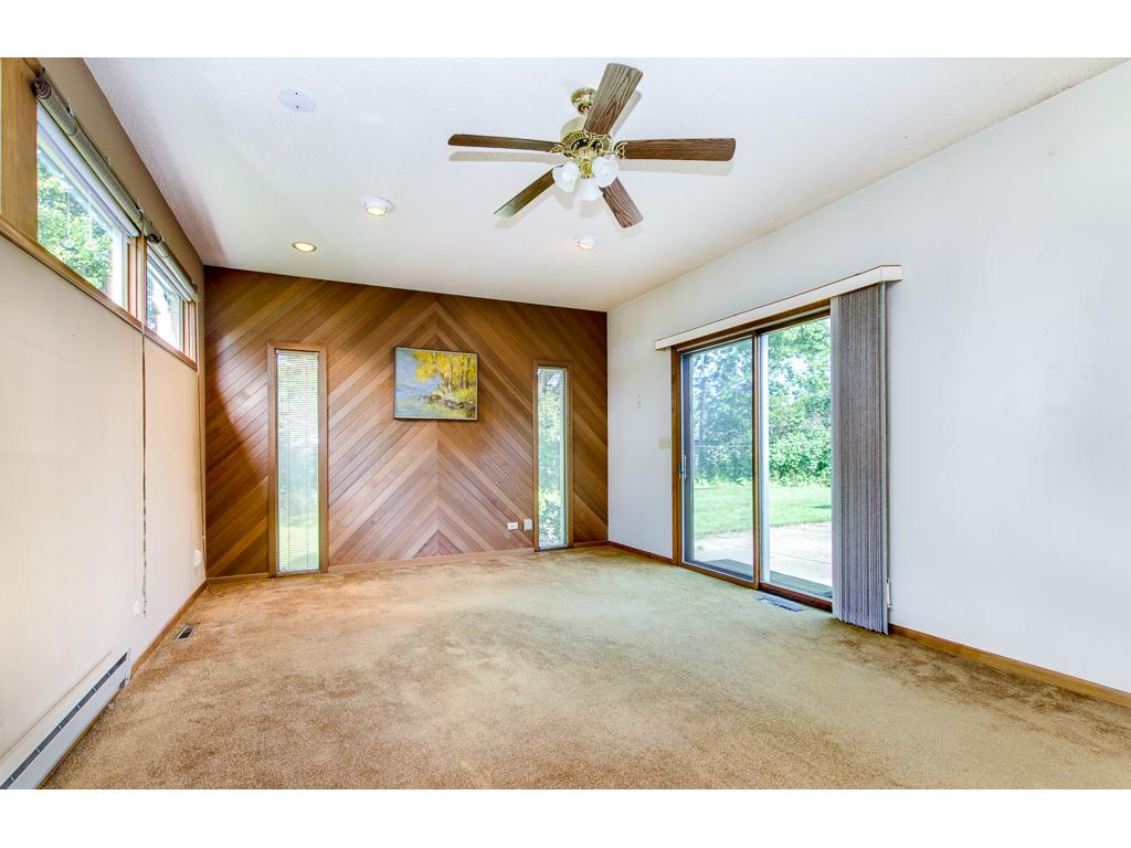 Unique 19X13 Studio Has Sliding Doors That Open to 28X28 Patio & Backyard--Would Also Make a Great Master Bedroom