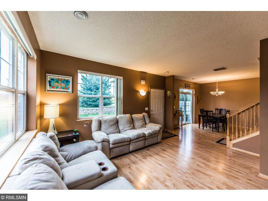 1st floor family room with plenty of room to entertain.