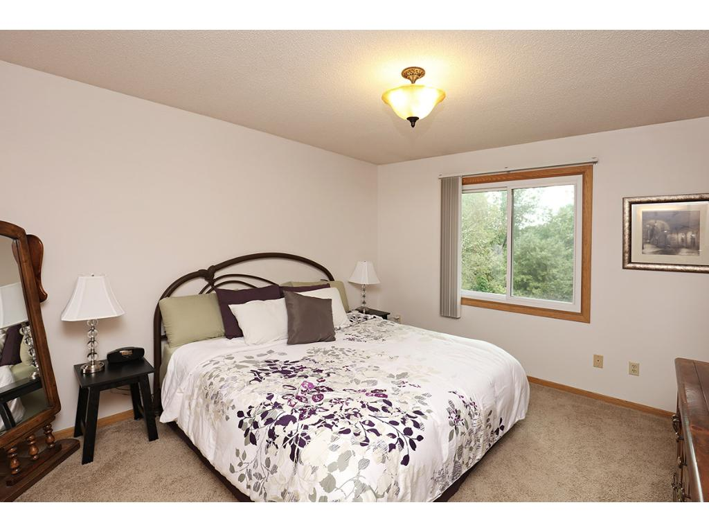 Owner's Bedroom includes Large Window, Generous Closet space and access to the Walkthrough Full Bath.