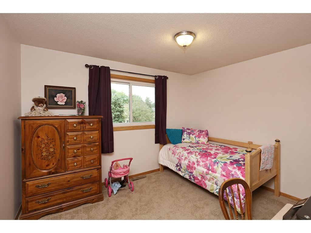 Three Additional Bedrooms in the Home include Ample Closet Space and Good Natural Lighting.