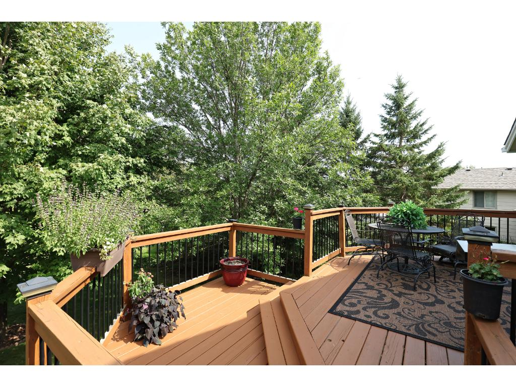 Relax on the Deck and Listen to the Creek or Rides Bikes on the Connected Trails.