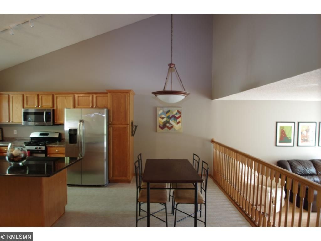 Large Dining area and room for stools at the island when everyone gathers in the kitchen.