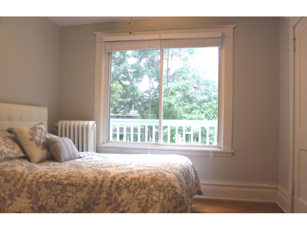 Master bedroom with lots of natural light and walk-in closet.