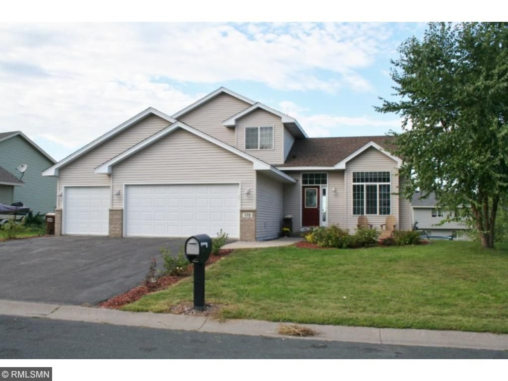 Move in ready 3 BR / 2 BA Modified two story.