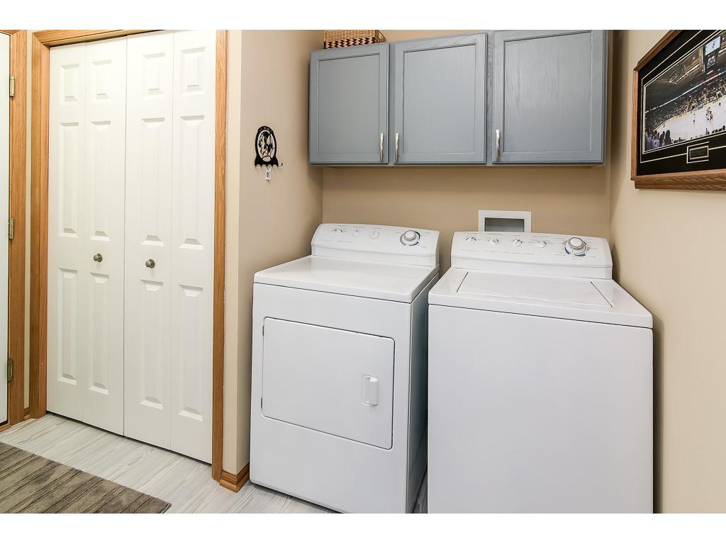 Convenient main level laundry