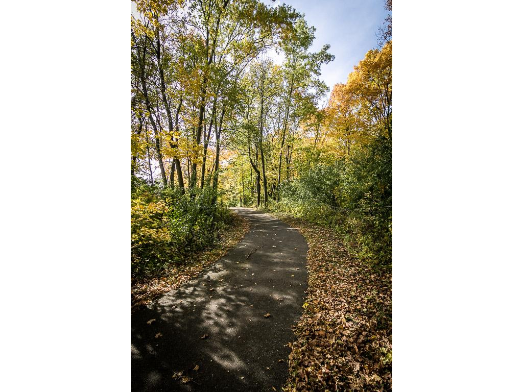 Nearby walking path - enjoy nature just outside your back door!