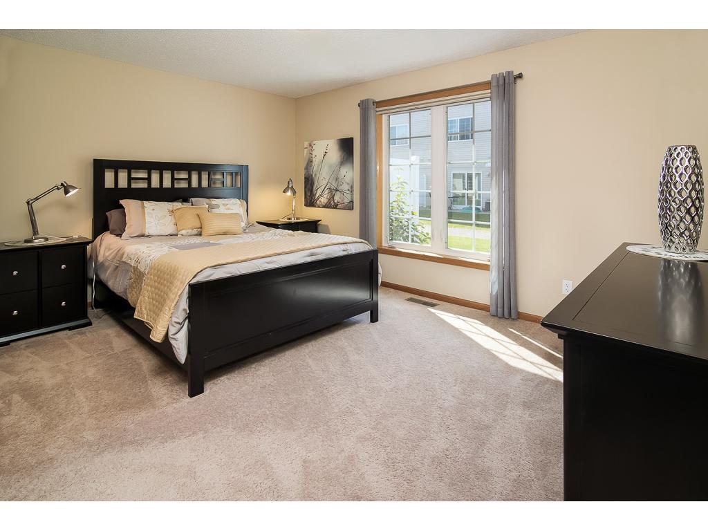 Restful master bedroom suite