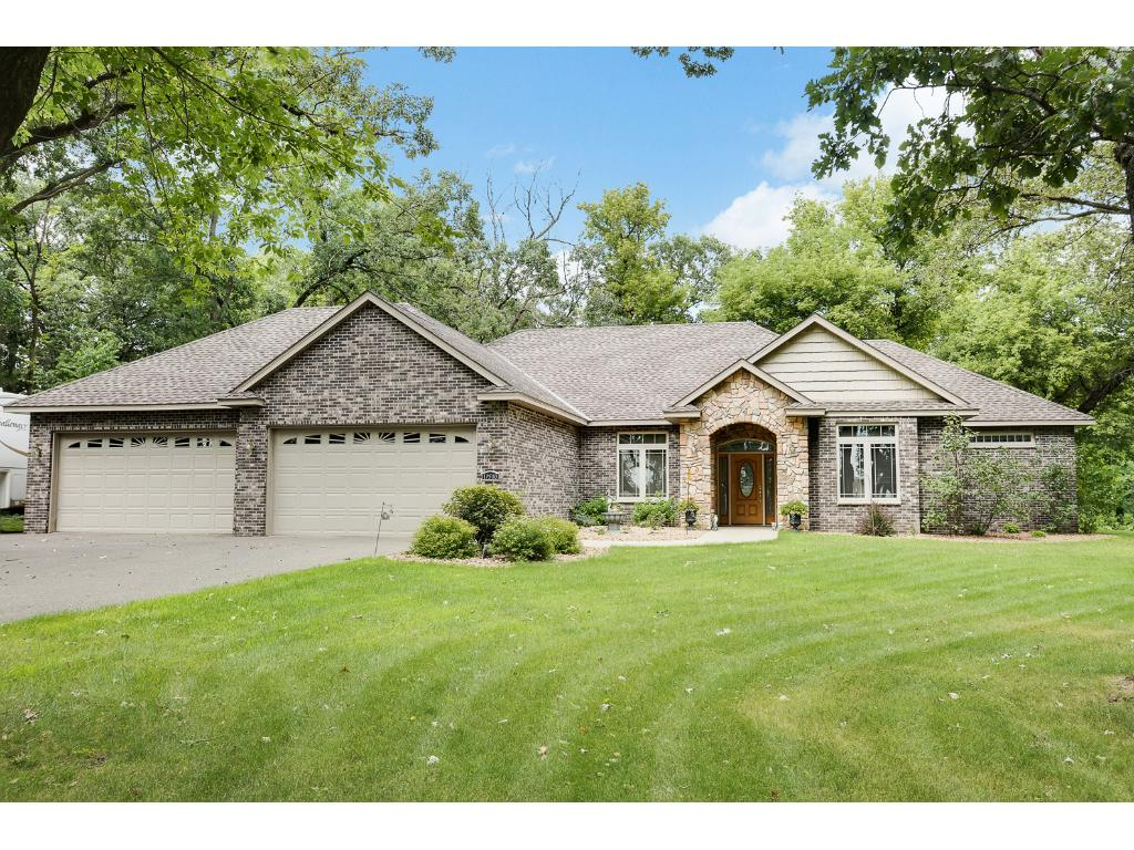 Stunning Custom Built one level home with oversized 4 car garage is nestled on 3.58 wooded acres. Home is full handicap accessible.