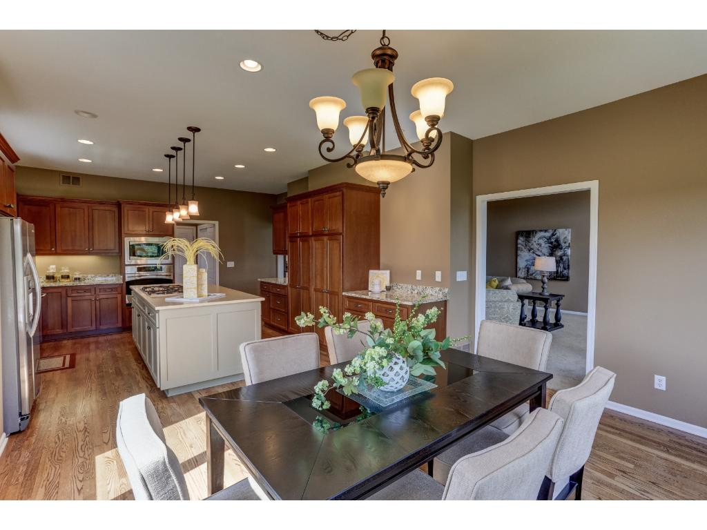 Dining Area Overlooks the Golf Course