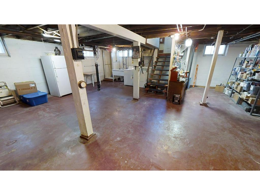 Basement has lots of space for storage or to finish into your ideal space! Great headroom, nice space.