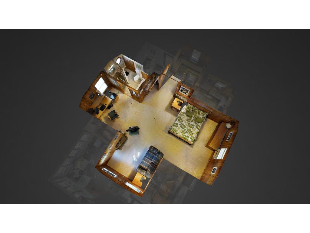 Bird's eye view of the upper level. Be sure to check out the 3D virtual tour for a peek inside this home!