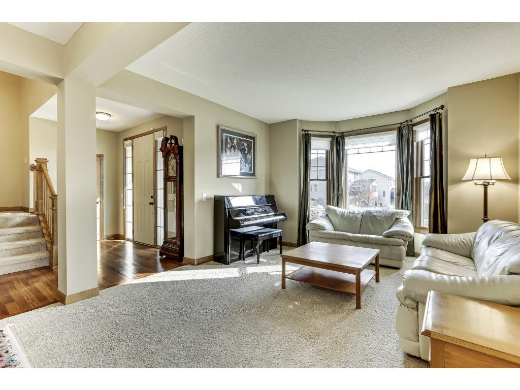 A formal Living Room works well as a music room.