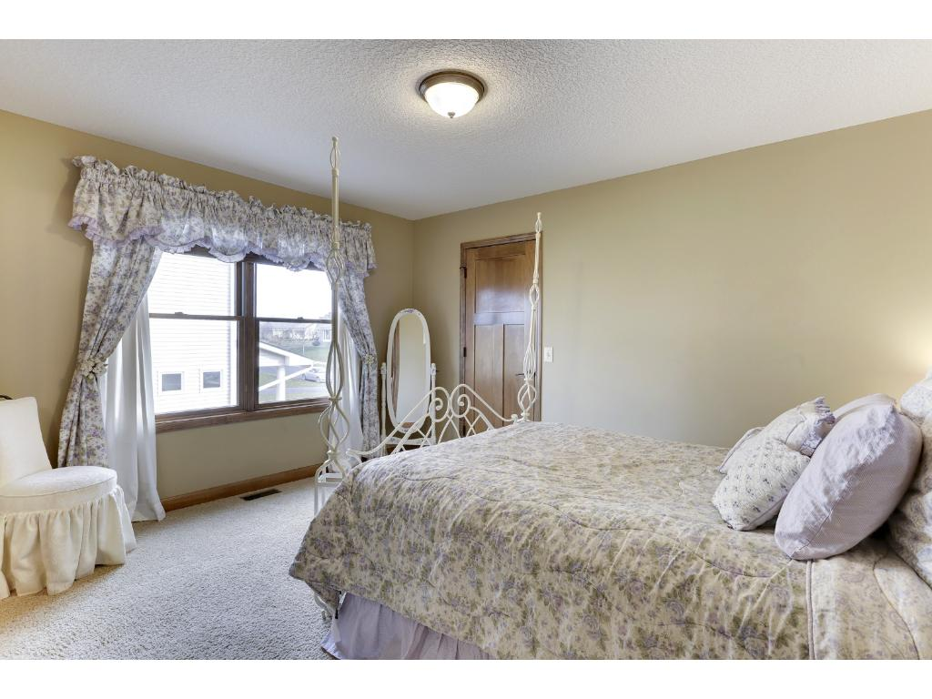 The upper level features large Junior Bedrooms with walk-in closets.