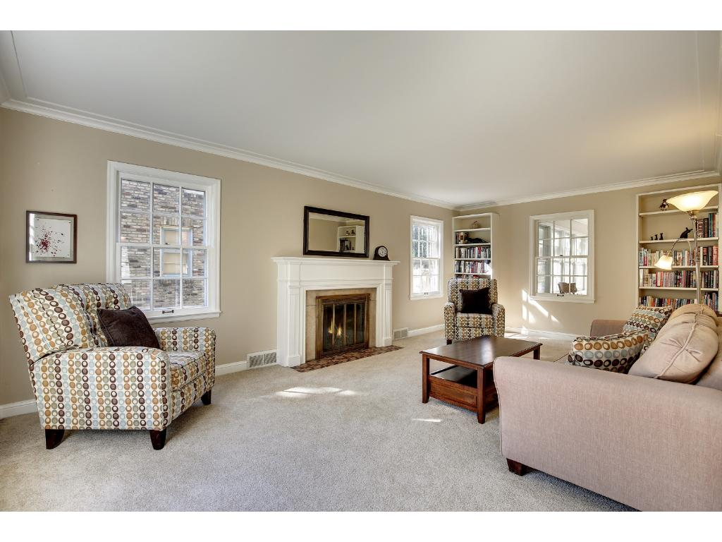 Step In To This Wonderful Living Room. All Of The Carpeting Throughout Was Is Brand New.