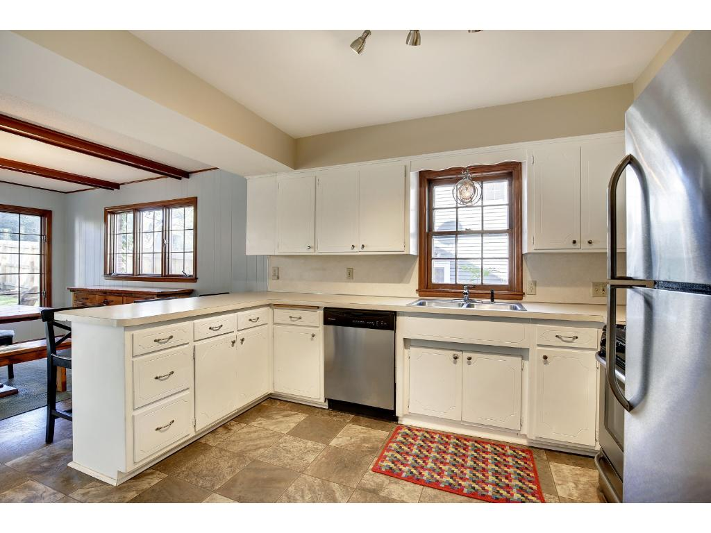 The Kitchen Features Newer Appliances...