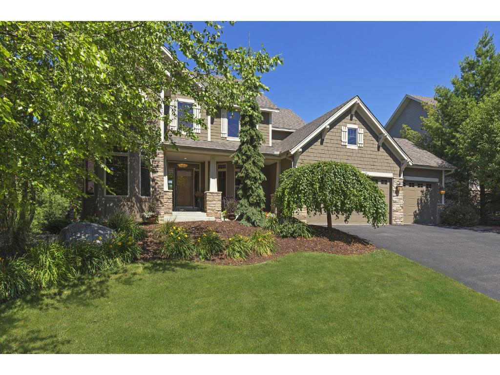Stunning two story in demand Lake Villa community! Wetland setting is manicured to perfection!