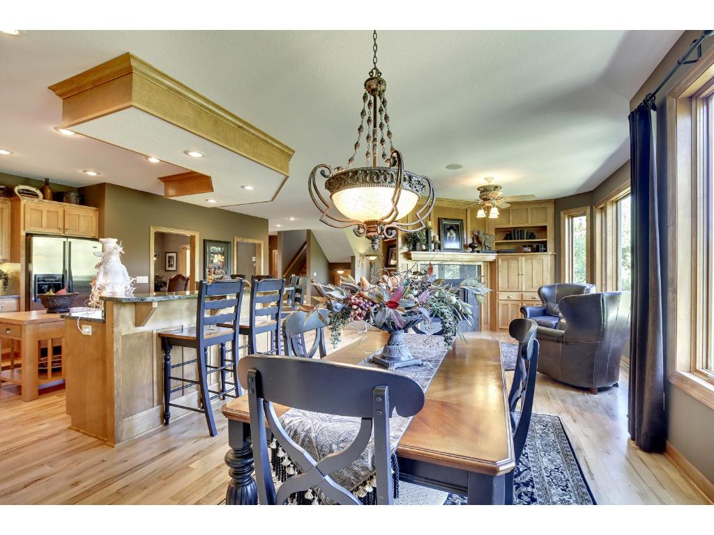 Amazing kitchen and Informal Dining space!