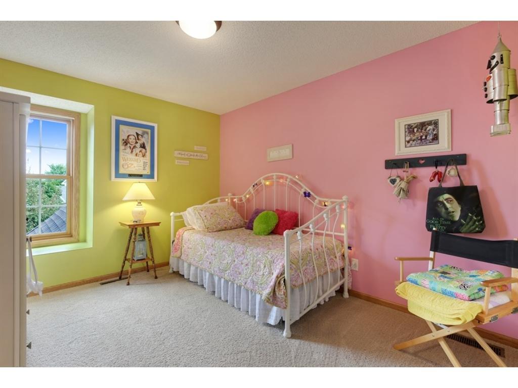 4th bedroom, on upper floor.