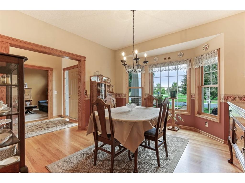 Formal dining room also has a butler's pantry adjacent to the kitchen.