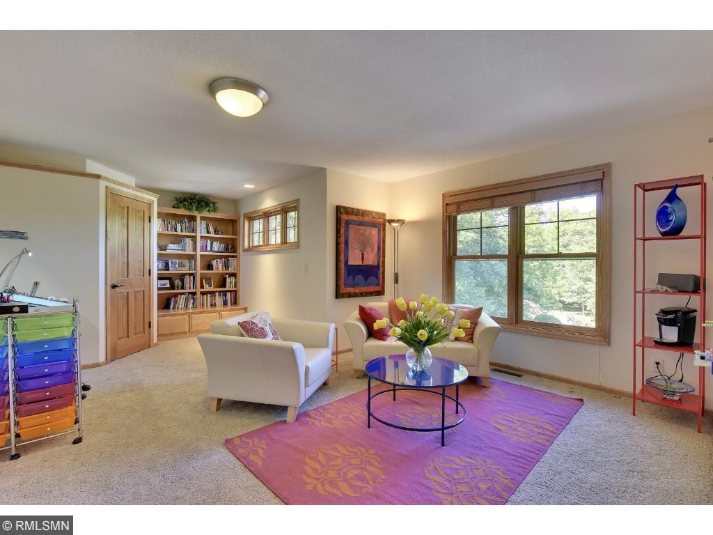 Extra bonus room is great for a smaller office, playroom, or even an exercise room!